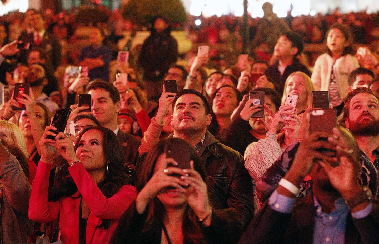 Photo Gallery: Annual Tree Lighting ceremony at Americana at Brand