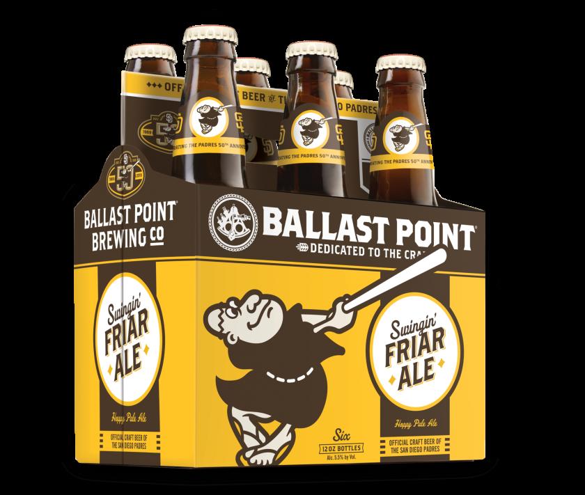 Swingin' Friar Ale from Ballas Point Brewing.