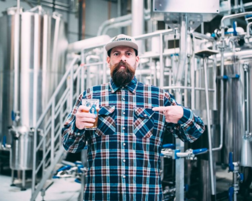 James Banuelos of Beach Grease Beer Co.