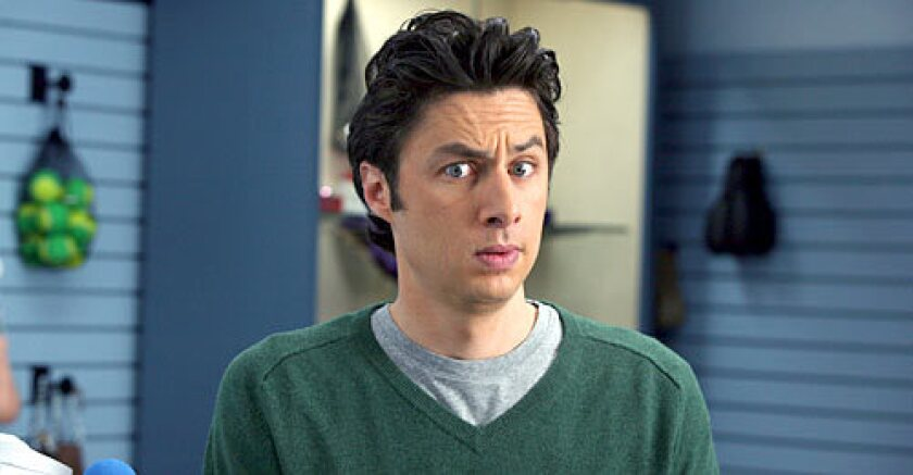 "Zach Braff in ""Scrubs."""
