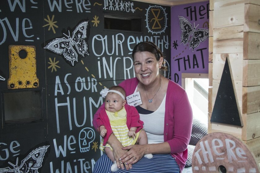 Julie Bigboy and 3-month-old Natalie