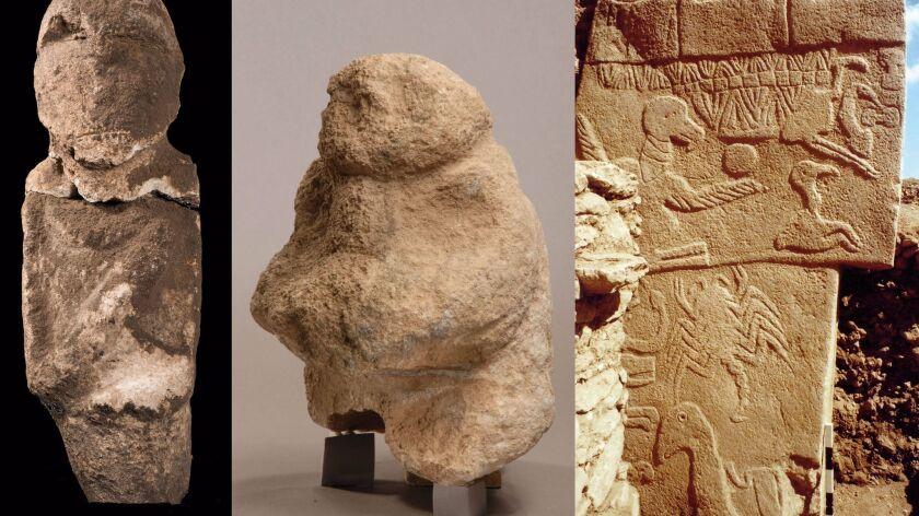 Hallaron cráneos humanos que fueron tallados como parte de un misterioso ritual en la Edad de Piedra
