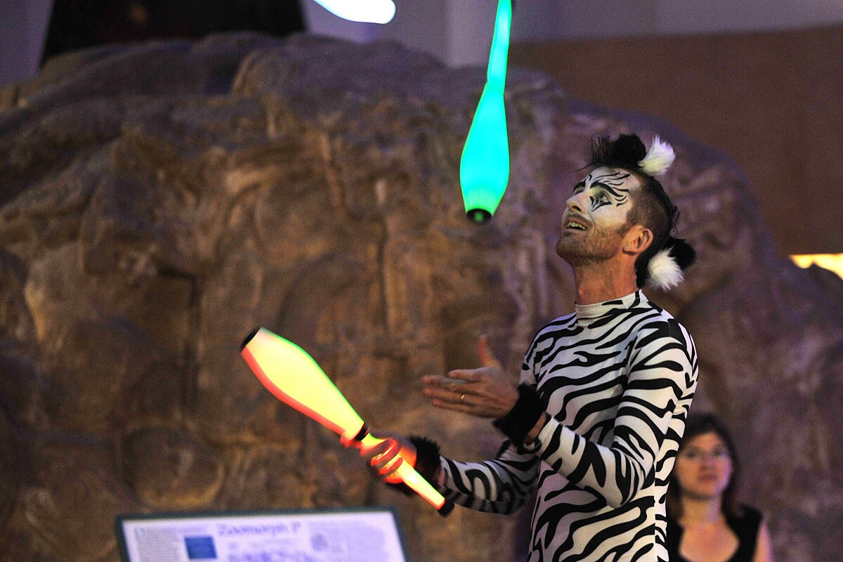 Party animals celebrated their wild side at the Wild Life party at the San Diego Museum of Man on Friday, Oct. 20, 2017.