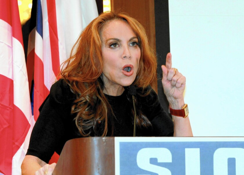 Pamela Geller, head of the American Freedom Defense Initiative.