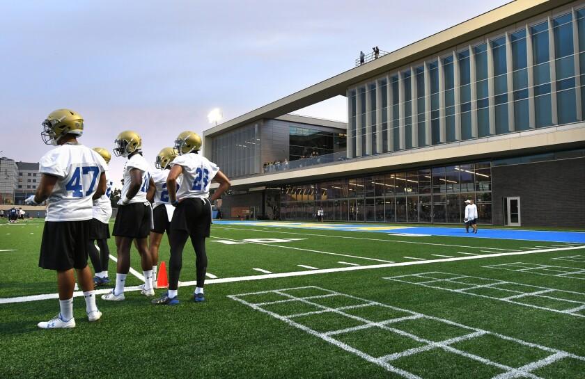 New UCLA football training center