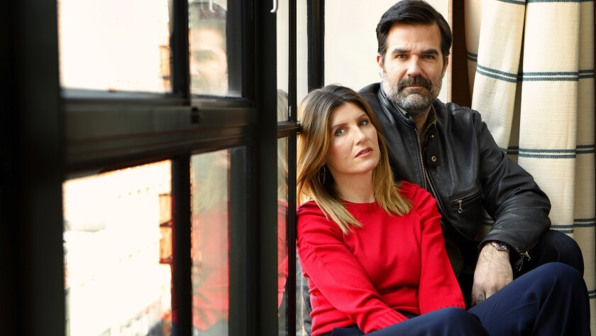"Rob Delaney and Sharon Horgan are the writers, creators and stars of the Amazon series ""Catastrophe."""