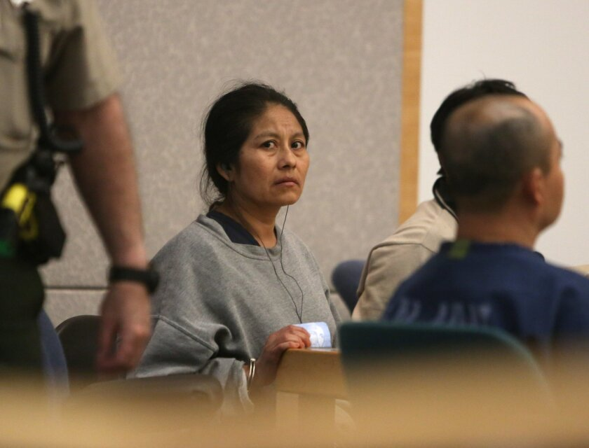 Oceanside couple, Inez Garcia, and Marcial Hernandez, right are accused of smuggling their 12 year old niece across the Mexican border for sex and forced labor more than a decade ago.