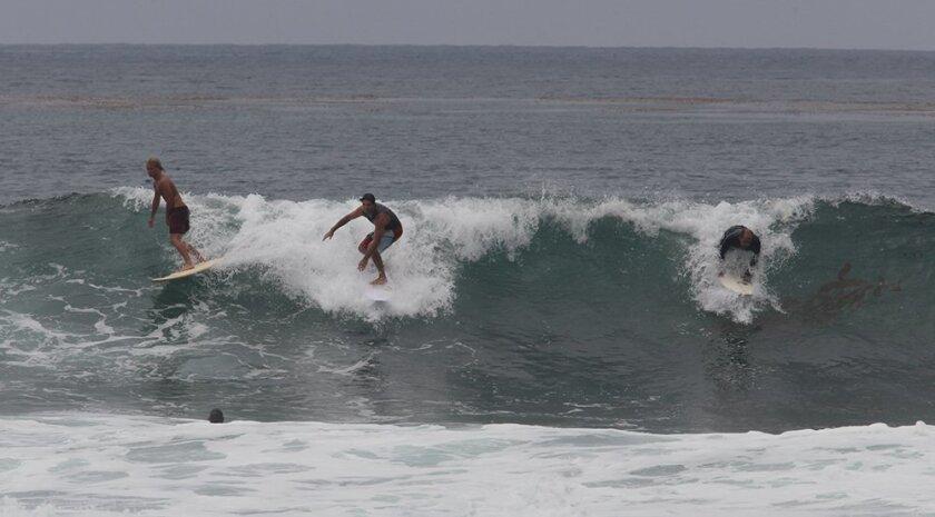 Surf's up at Windansea