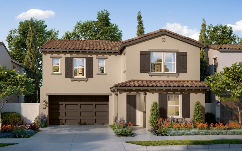 The 102 homes at Vientos at Rancho Tesoro are expected to begin opening in spring 2017. The Brookfield Residential project has homes from 2,458 to 3,009 square feet.