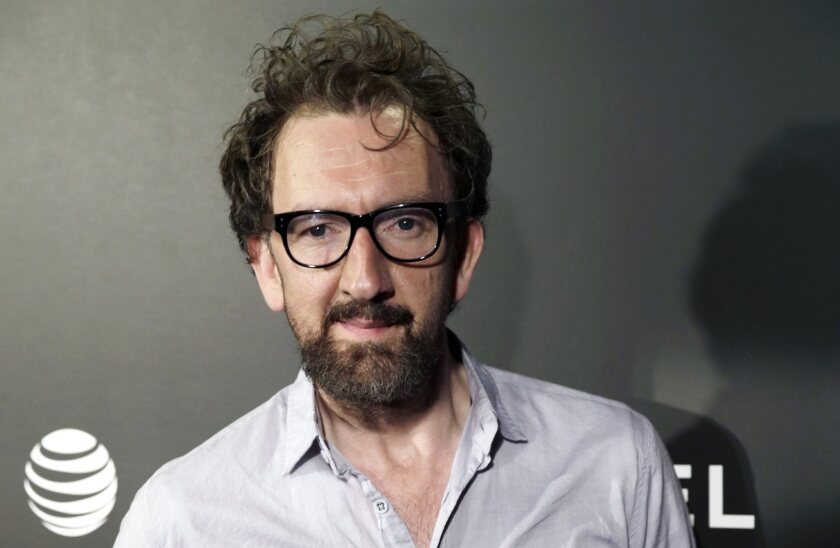 "Director John Carney at the U.S. premiere of ""Begin Again"" at the Tribeca Film Festival in New York on April 26."