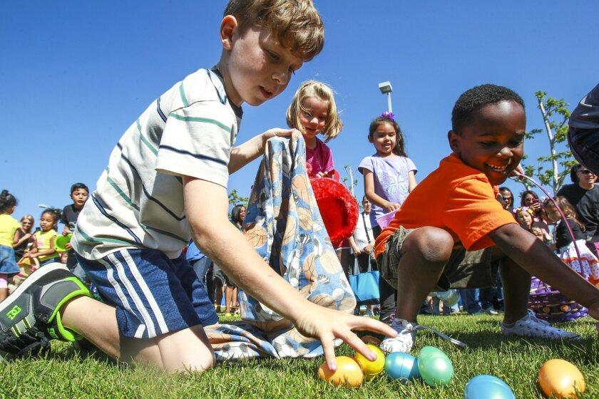 Easter egg hunt an 'Eggstravaganza'