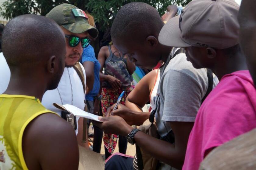Los migrantes en Tapachula emprenderán esta madrugada su camino hacia EE.UU.