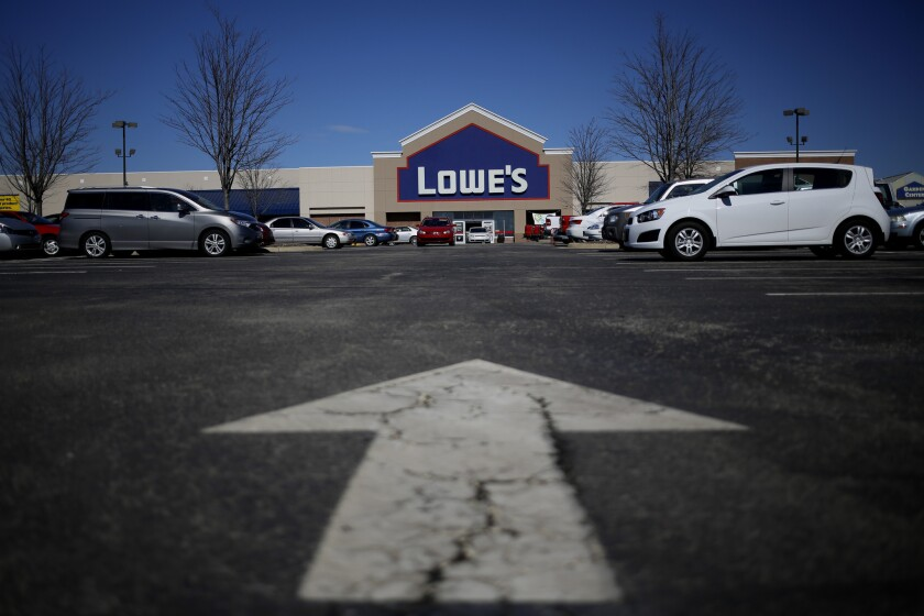 Lowe's agreed to implement a checklist to document that its contractors have complied with lead-safety rules. Above, a store in Louisville, Ky.
