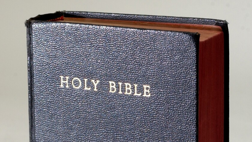 The Bible is among the year's most-challenged books.