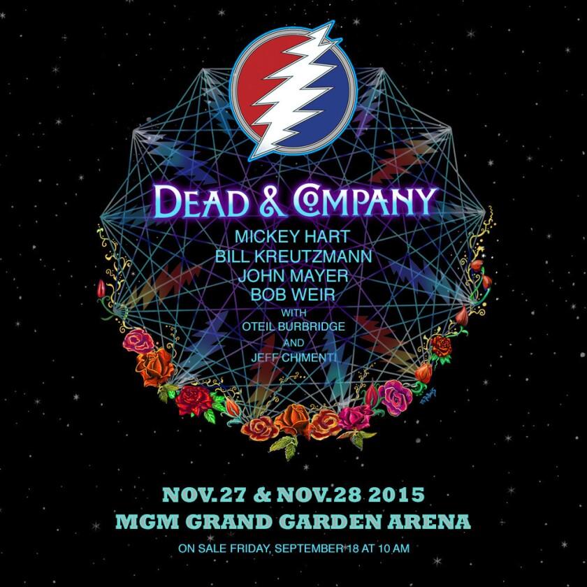 Dead & Company reunites three original members of the Grateful Dead for two nights in Las Vegas.
