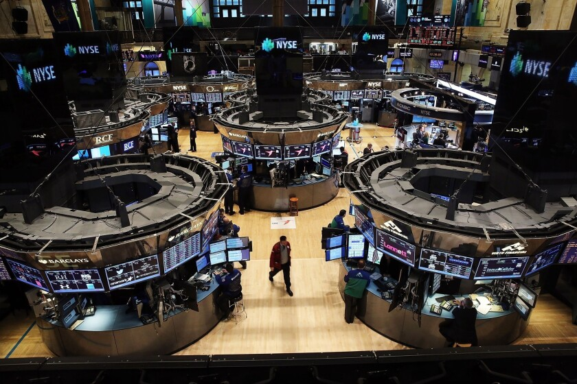 Inside the New York Stock Exchange