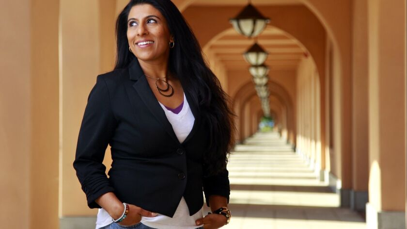 Priti Gandhi is a soprano with the San Diego Opera, photographed at Liberty Station.
