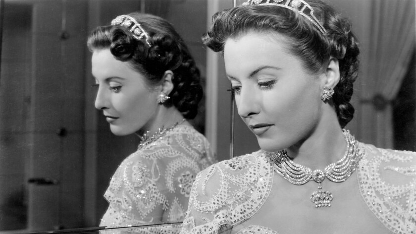 """Barbara Stanwyck in """"The Lady Eve."""""""