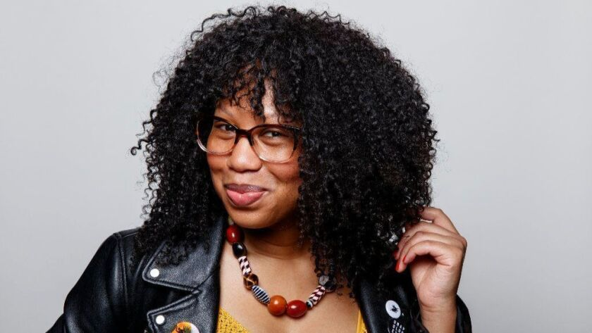 """""""Black women have always been at the forefront of community, and I'm just adding my story to it,"""" says Glory Edim, author of """"Well-Read Black Girl: Finding Our Stories, Discovering Ourselves."""""""