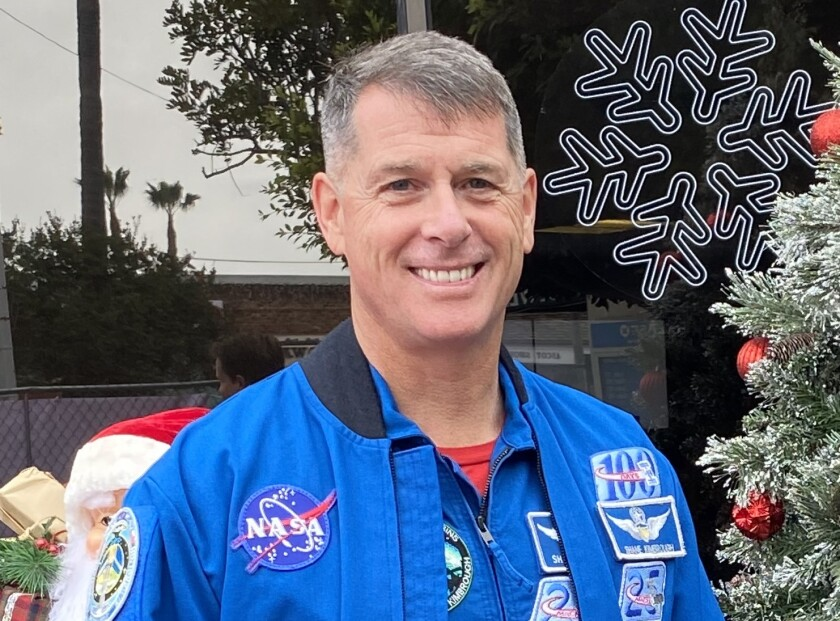Former International Space Station commander Shane Kimbrough makes a special appearance in La Jolla.