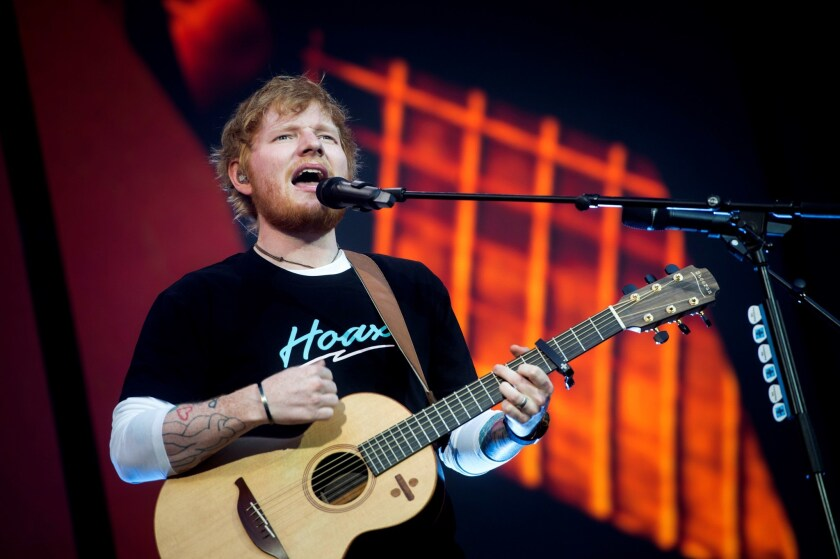 Ed Sheeran in concert, Madrid, Spain - 11 Jun 2019