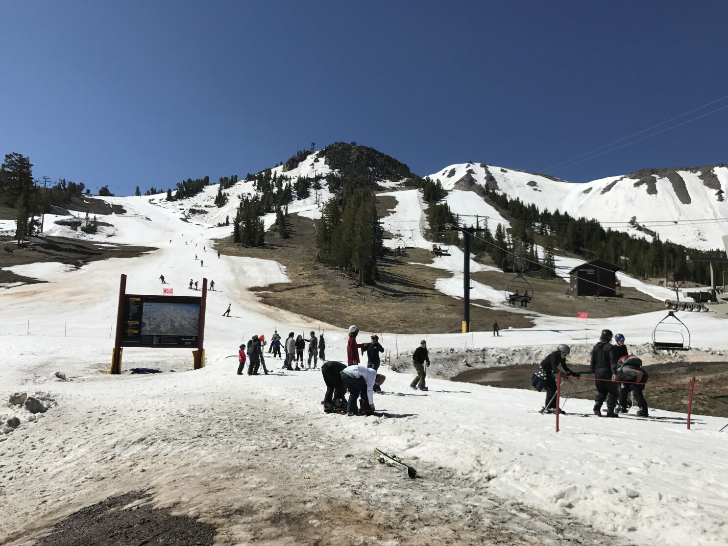 Once hoping for skiing into August, Mammoth Mountain slopes to close July 28 - Los Angeles Times