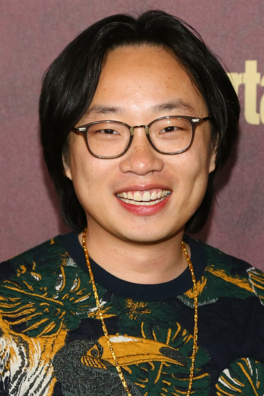 A photo of Jimmy O. Yang at the 2018 Entertainment Weekly Pre-Emmy Party
