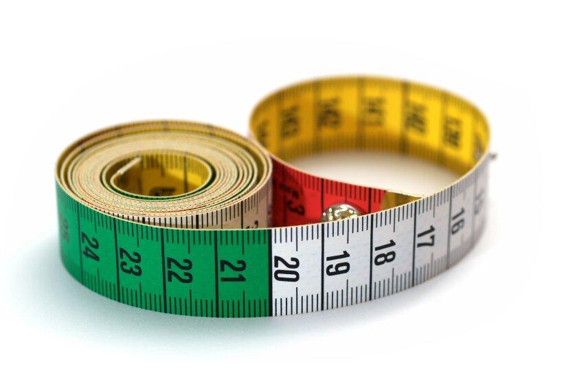 Measuring up.