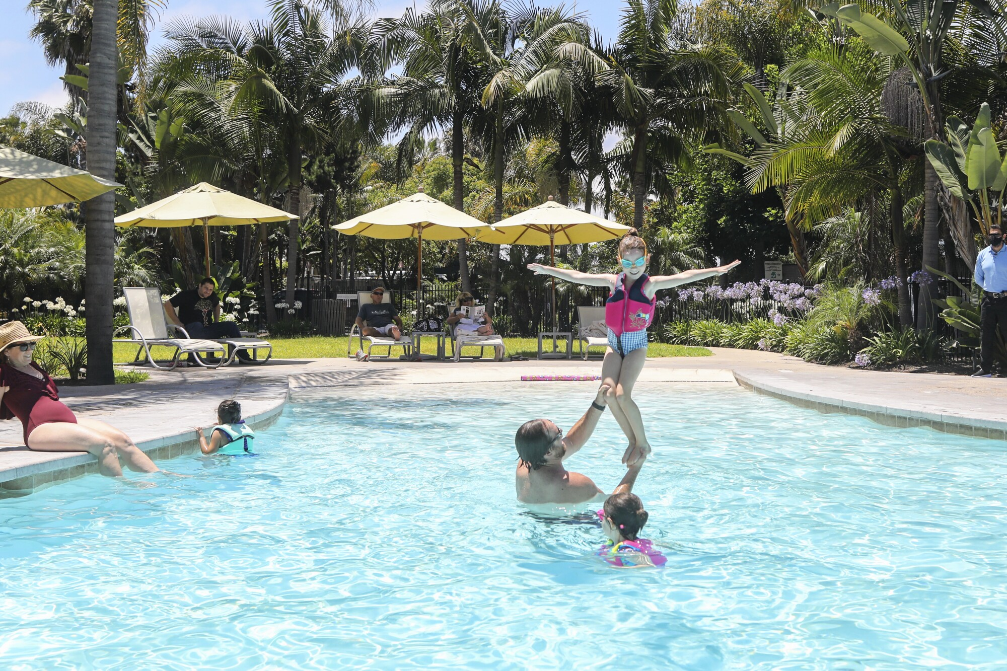 Paradise Point resort reopens