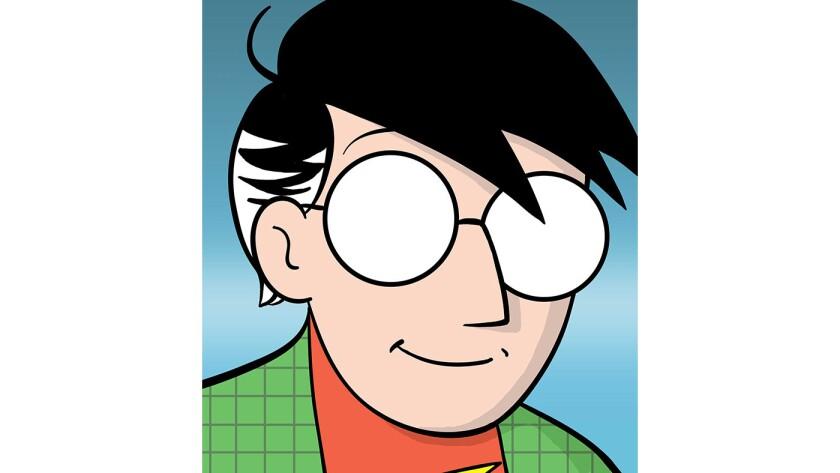 A self-portrait of author Scott McCloud.