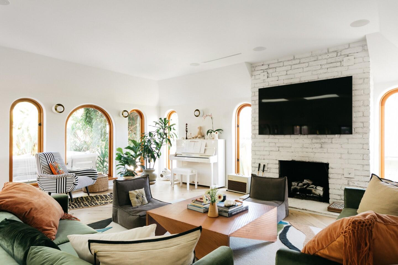 Lourdes Hernández's Los Feliz home | Hot Property - Los Angeles Times