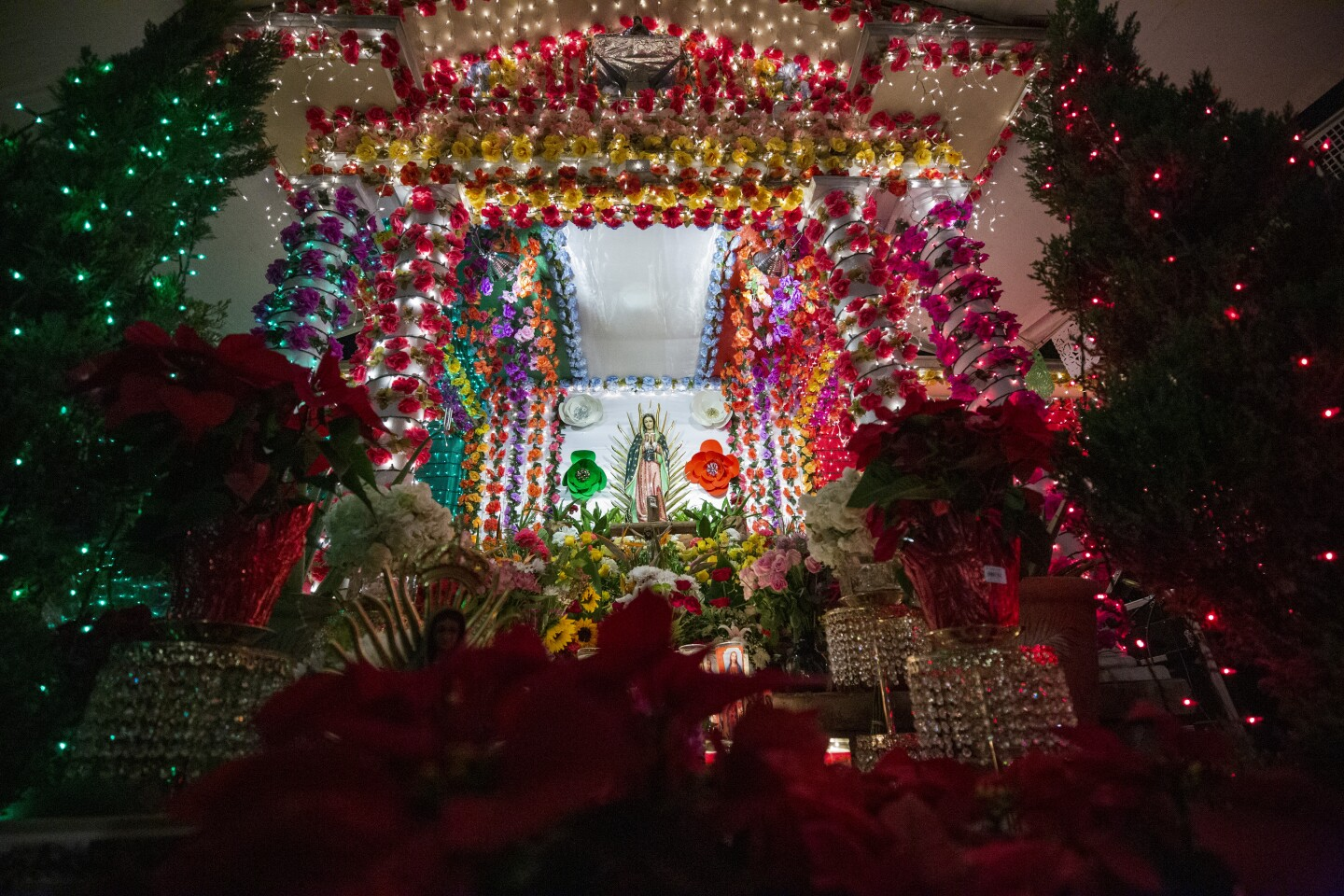 Santa Ana home becomes an altar for Our Lady of Guadalupe