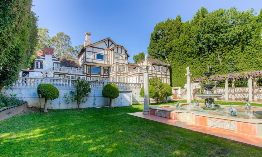 Ed McMahon's former Bel-Air home