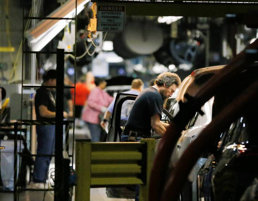 U.S. economy improving faster than expected, data show
