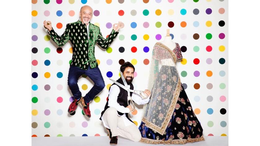 a0d4430d516 The Christian Louboutin x Sabyasachi footwear collaboration brings a ...