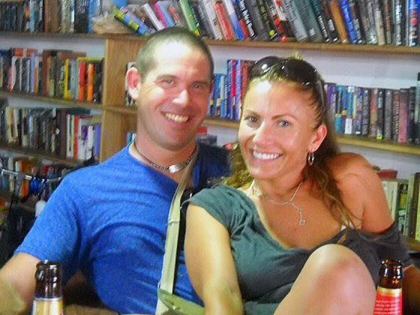Brian Brimager, left, and Yvonne Baldelli moved to Panama in 2011.