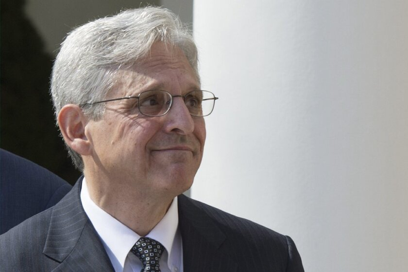 President Obama nominated Judge Merrick Garland to fill Justice Antonin Scalia's vacancy in the Supreme Court.