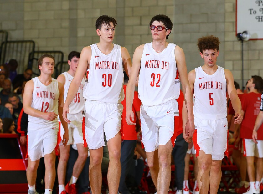 Santa Ana Mater Dei could clinch a spot in Southern Section Open Division championship game with a win over Rancho Christian on Tuesday.