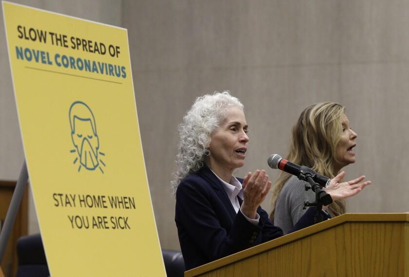 L.A. County Public Health Director Barbara Ferrer