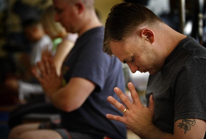 veterans yoga contractors PTSD