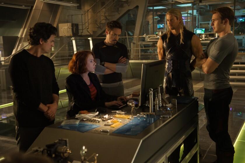 'Avengers: Age of UItron'