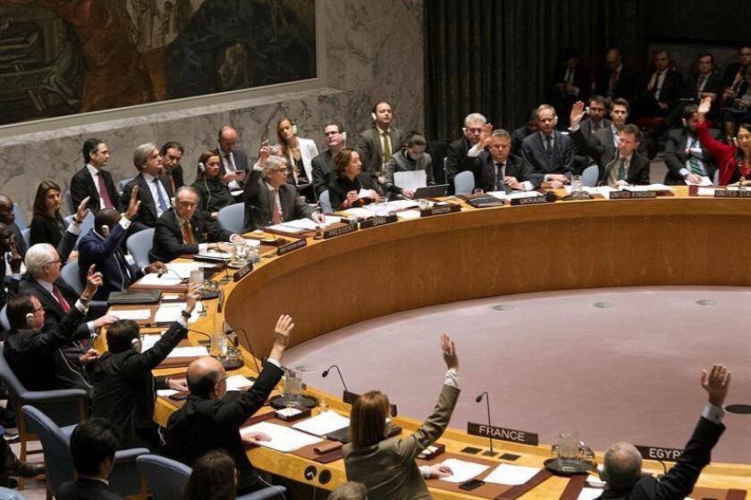 El futuro de una resolución contra los asentamientos israelíes impulsada en la ONU por los países árabes quedó hoy en el aire tras fuertes presiones de Israel y del presidente electo, Donald Trump. EFE/ARCHIVO
