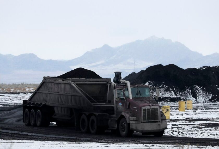 Intermountain coal truck, Utah