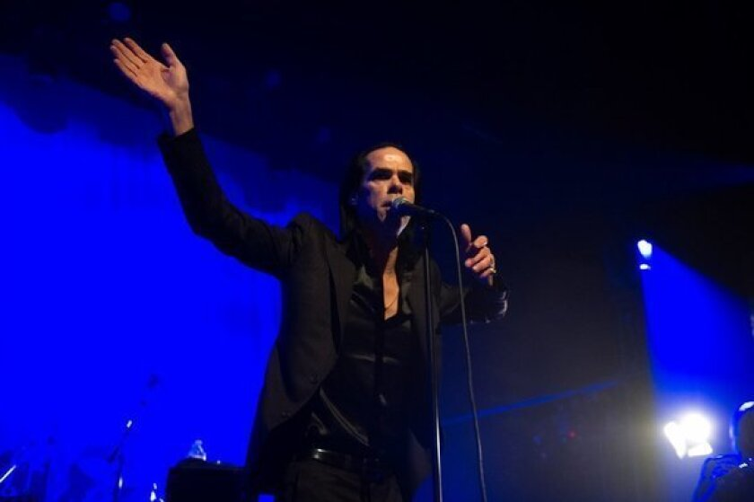 Nick Cave, who recently performed in L.A., spoke Tuesday at SXSW in Austin, Texas.