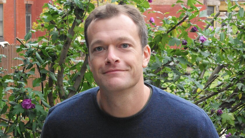 Author Chris Bachelder