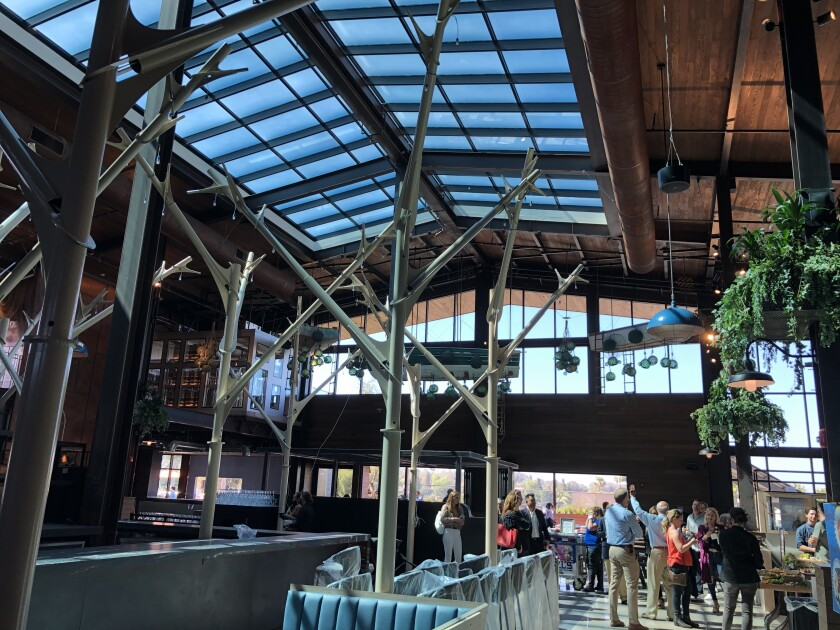 Sky Deck, a 26,000 square foot restaurant soon to open at Del Mar Highlands Town Center in Carmel Valley.