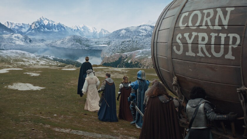 This undated image provided by Anheuser-Busch shows a scene from the company's Bud Light 2019 Super
