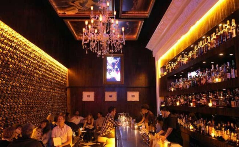 The dazzling scene inside Noble Experiment, a hidden bar in East Village.