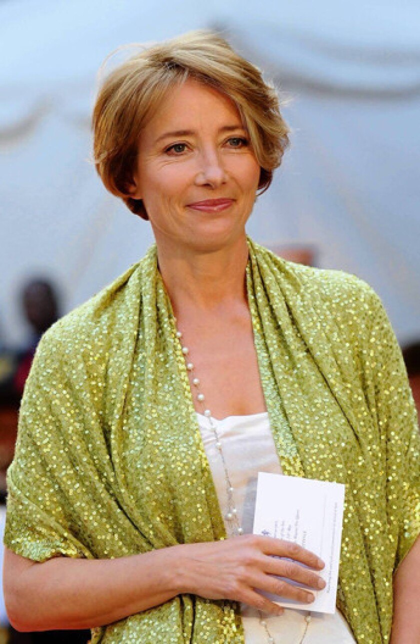 Emma Thompson makes the hop from screen to page