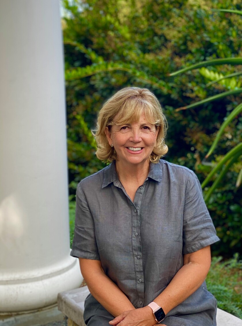 La Jolla resident Vicki Reed is a board member with The Parker Foundation.